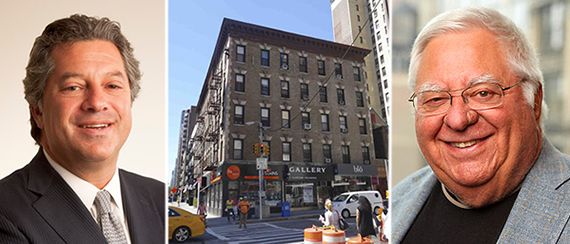 From left: Marc Holliday, 260 East 72nd Street on the Upper East Side and David Berley