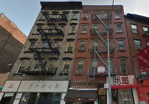 55 and 57 Spring Street in Nolita (credit: Google Maps)