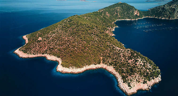 The Greek Nafsika Island is for sale for $7.6 million