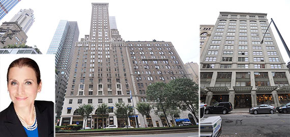 From left: Donna Olshan, 502 Park Avenue and 25 North Moore Street