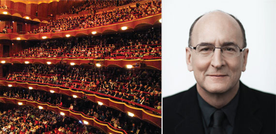 The Metropolitan Opera at Lincoln Center and Peter Gelb of the Met