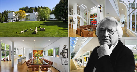 "Architect Richard Meier and the the ""White Castle"""