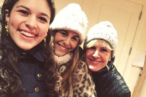 From left: Victoria, Marlena and Ewa Laboz (source: Instagram)