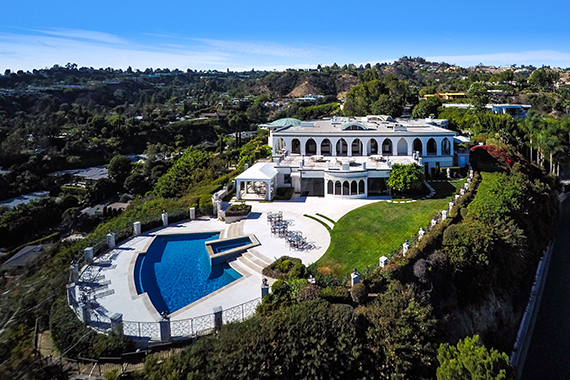 Comedian Danny Thomas' former estate in Beverly Hills (credit: Business Wire)