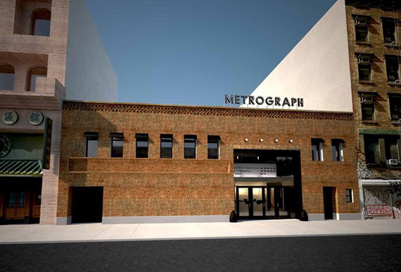 Rendering of the Metrograph cinema on the Lower East Side (credit: Metrograph LLC)