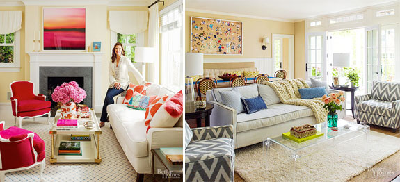 Brooke Shields and her Hamptons home