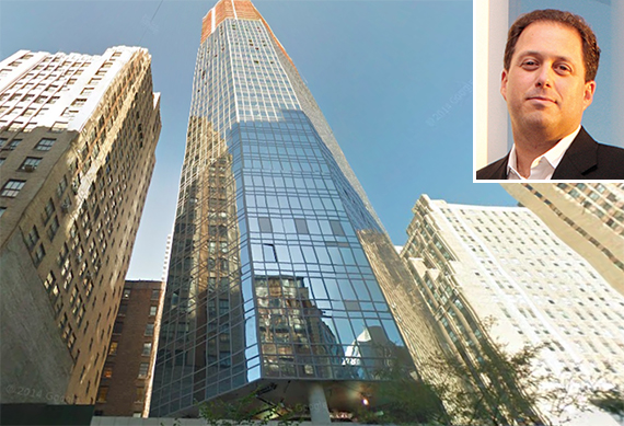 160 Madison Avenue in NoMad with J.D. Carlisle CEO Evan Stein (inset)