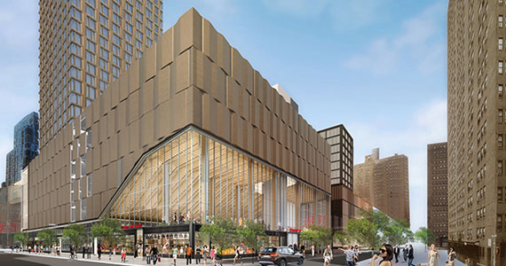A rendering of Essex Crossing, a massive project transforming the Lower East Side.