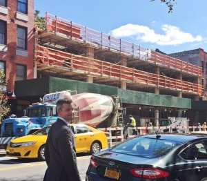 Ryan Serhant at 100 Avenue A in the East Village