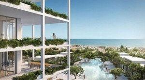A rendering of the Shore Club