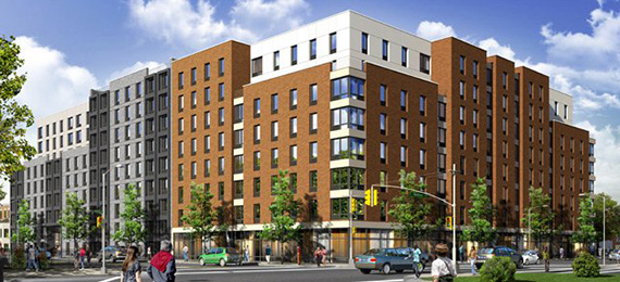 A rendering of 1755 Watson Avenue (credit: Azimuth Development Group)