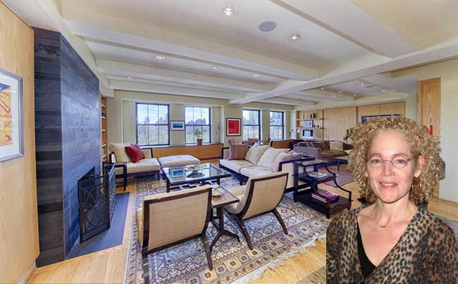 Actress Amy Irving bought an apartment at 75 Central Park West for $8.99 million.