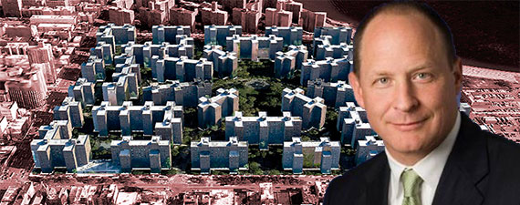 Stuyvesant Town and CWCapital President David Iannarone