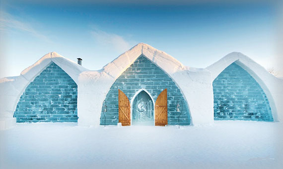 Hotel de Glace in Quebec