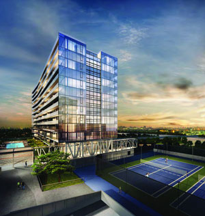 A rendering of Grand at Sky View Parc