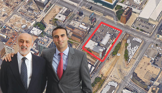 Henry and Justin Elghanayan with 555 West 38th Street in Hudson Yards