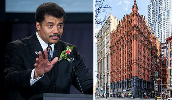 Out of this world! Neil deGrasse Tyson buys a second pad at 145 Nassau in FiDi