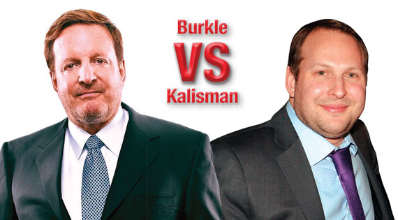 Morgans' two largest stakeholders, billionaire Ron Burkle, left, and real estate scion Jason Kalisman, have been going head to head over the direction of the company.