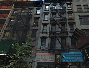 317 and 319 West 35th Street in Midtown (credit: Google)