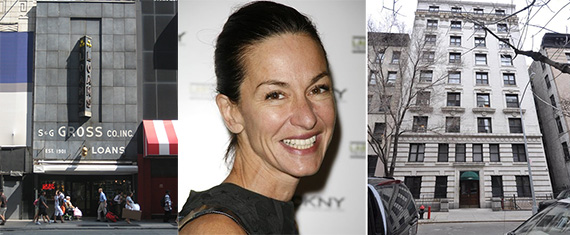 From left: S&G Gross at 486 Eighth Avenue in Midtown, Cynthia Rowley and 203 West 107th Street in Manhattan Valley
