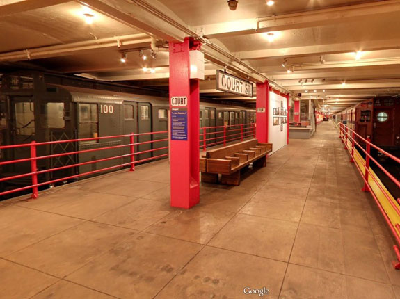 the-new-york-transit-museum-was-actually-created-in-a-decommissioned-underground-station-in-brooklyn