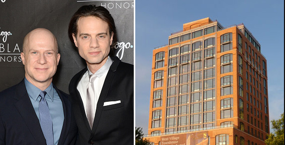 From left: Richie H and Jordan Roth and the Superior Ink Condominiums (credit: Getty Images)