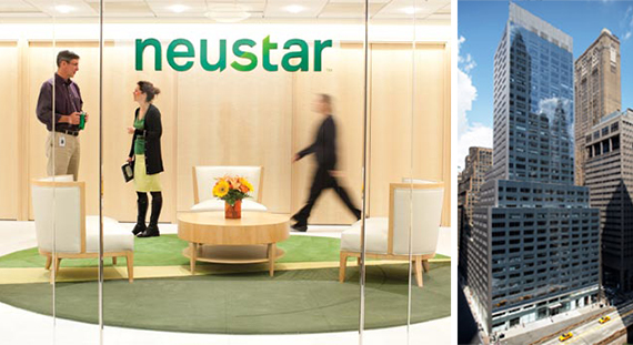 Neustar offices and 100 Park Avenue in Midtown