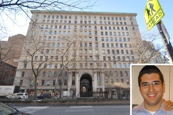 The Apthorp Building at 2211 Broadway on the Upper West Side (inset: Jona Rechnitz)