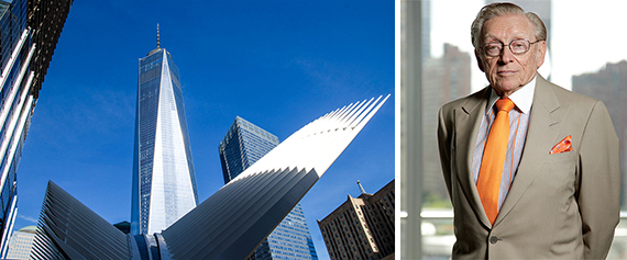 One World Trade Center, the Oculus and Larry Silverstein