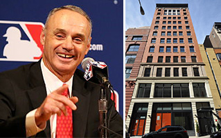 MLB's Rob Manfred and 245 West 17th Street