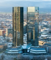 Deutsche Bank Headquaters in Frankfurt