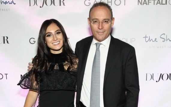 Danielle and Miki Naftali (credit: Getty Images)