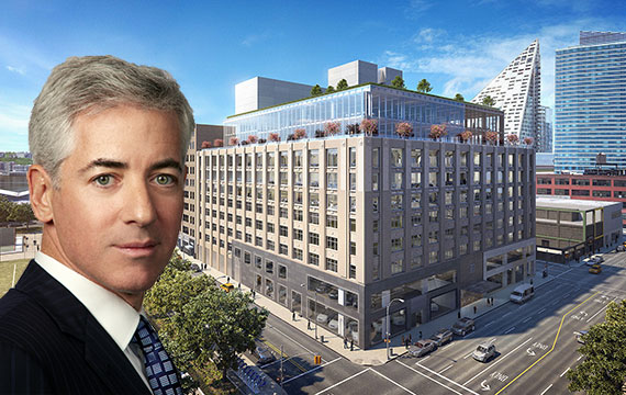 Bill Ackman and 787 Eleventh Ave