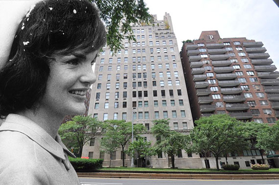 Jackie Kennedy Onassis and 740 Park Avenue