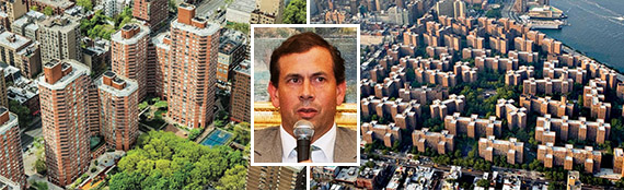 Kip's Bay Court and Stuyvesant Town (inset: Andrew MacArthur)
