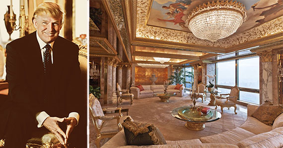 President-elect Donald Trump and his Fifth Avenue penthouse