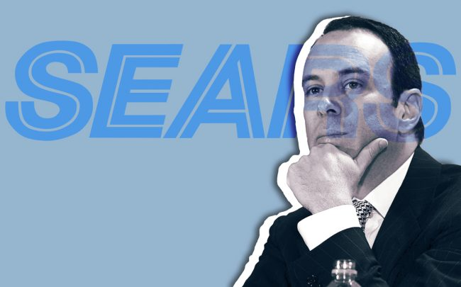 Sears is suing former boss and new owner Eddie Lampert. Here's why