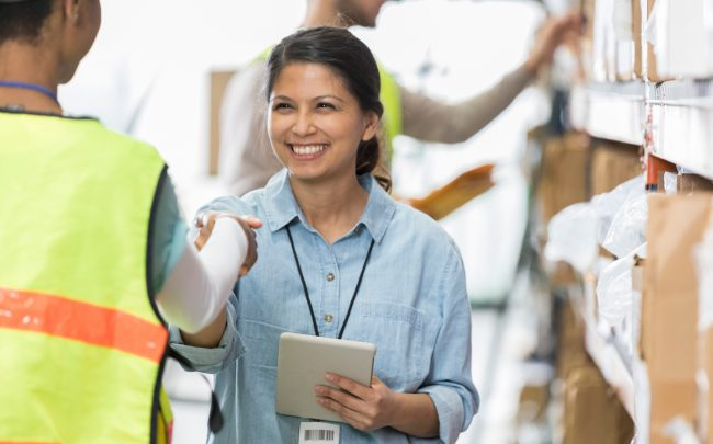 Warehousing and storage companies added 5,400 jobs in April (Credit: iStock)