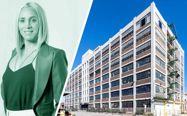 Lionheart Capital Partner Allison Greenfield and the White Cap Lofts
