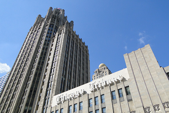 Chicago's Tribune Tower