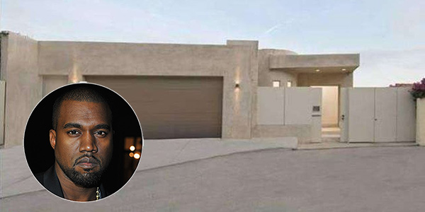 Kanye west sells heartless hollywood hills home for 3m for Den marketing fish tanks