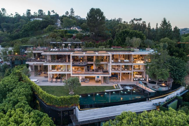 New Bel Air spec mansion spanning 25K sf listed for $88M