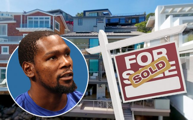 Kevin Durant and the home in Malibu (Credit: 31504 Victoria Point Road)