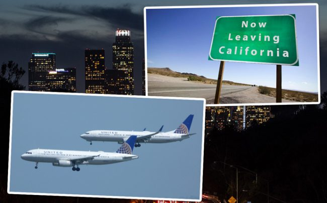 Many are indeed leaving LA