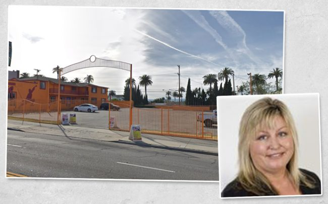 Newport Partners founder Monique Hastings and 1141 S. Crenshaw Boulevard