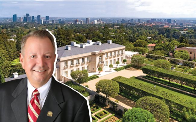 NAR President John Smaby and the Chartwell Estate, first shopped as a pocket listing in 2017 (credit: NAR)