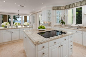The home's kitchen