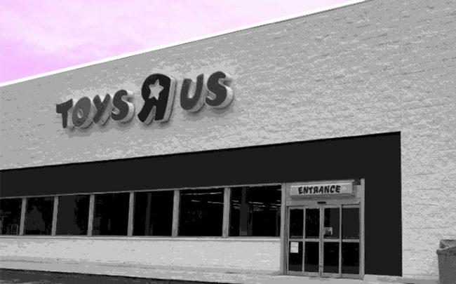 "Toys ""R"" Us at 601 North Congress Avenue in Boynton Beach"