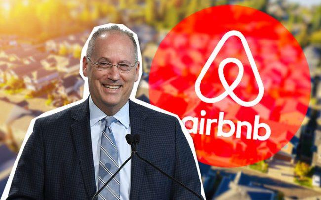 Miami Beach Mayor Dan Gelber (Credit: Getty Images, iStock, and Airbnb)