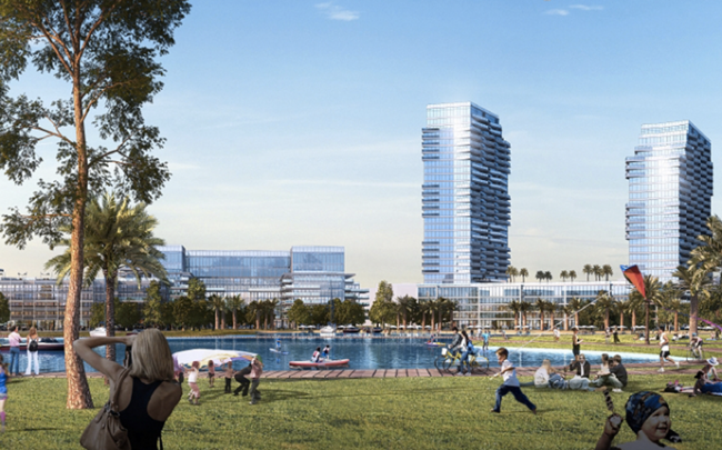 Rendering of the project (Credit: Point Publications)